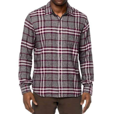 prAna Woodman Flannel Shirt - Organic Cotton, Long Sleeve (For Men)