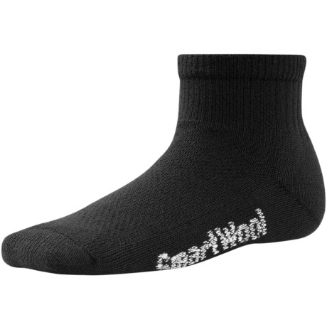 SmartWool Ultralight Hiking Socks - Merino Wool, Ankle (For Little and Big Kids)