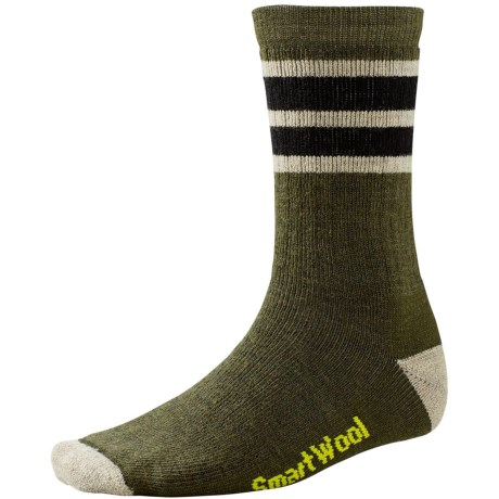 SmartWool Striped Hike Socks - Merino Wool, Crew (For Men and Women)