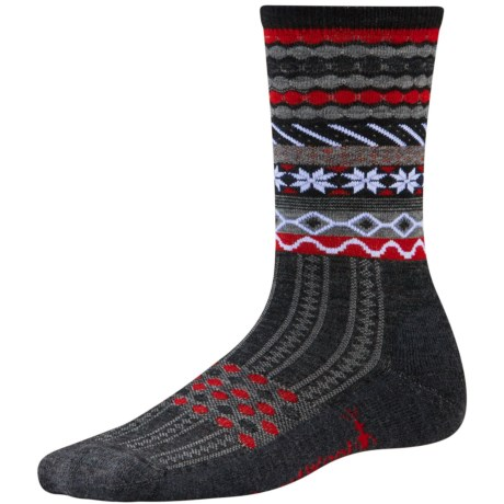 SmartWool Flake Isle Socks - Merino Wool, Crew (For Women)