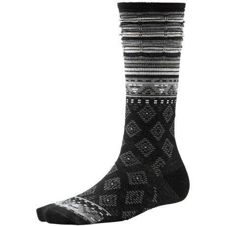 SmartWool Rocking Rhombus Socks - Merino Wool, Mid Calf (For Women)