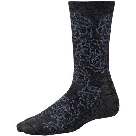 SmartWool Knoll Garden Socks - Merino Wool, Crew (For Women)