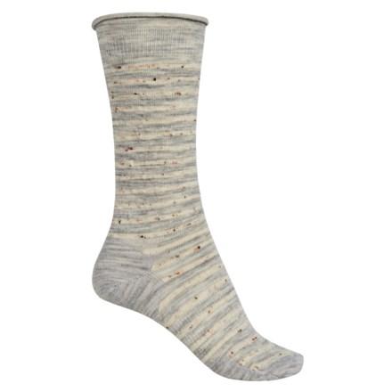SmartWool Vista View Socks - Merino Wool, Mid Calf (For Women) in Ash Heather - Closeouts