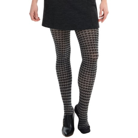 SmartWool Houndstooth Tights - Merino Wool (For Women)