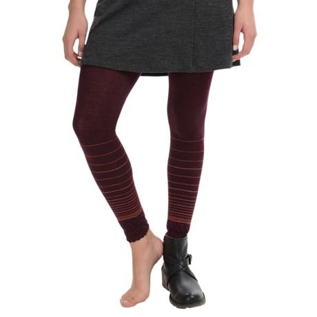 SmartWool Horizon Line Footless Tights - Merino Wool (For Women)