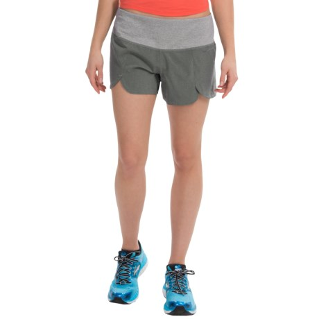 "Brooks Racey 3.5"" Shorts (For Women)"