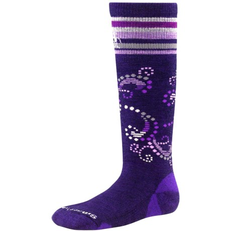 SmartWool Ski Racer Socks - Merino Wool, Mid Calf (For Little and Big Kids)