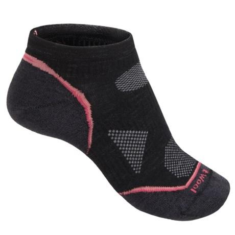 SmartWool PhD Ultralight Micro Running Socks - Merino Wool, Below the Ankle (For Women)