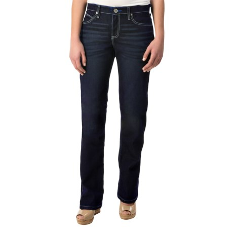 Wrangler Cool Vantage Q-Baby Jeans - Straight Leg (For Women)