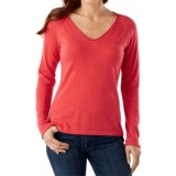 SmartWool Granite Falls Sweater - Merino Wool, V-Neck, Long Sleeve (For Women)