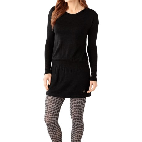 SmartWool Tabaretta Sweater Dress - Merino Wool, Long Sleeve (For Women)
