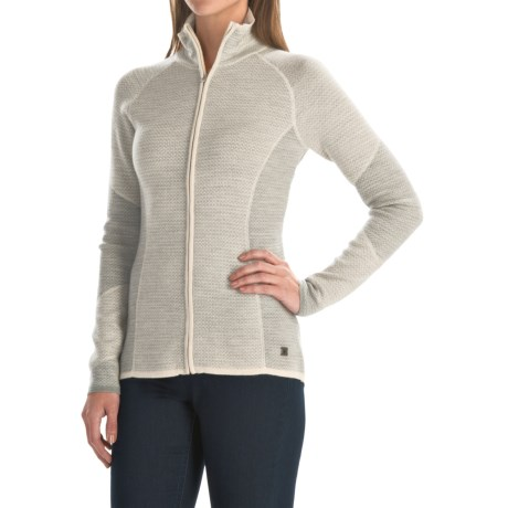 SmartWool Alamosa Sweater - Merino Wool, Zip Front (For Women)