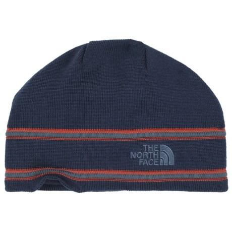 The North Face Logo Beanie - Merino Wool Blend