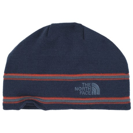 The North Face Logo Beanie - Merino Wool Blend