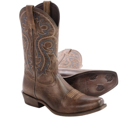Outstanding value for a nice pair of boots - Review of Ariat ...