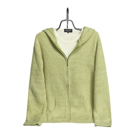 Colorado Clothing Chenille Hoodie Sweater - Zip Front (For Women)