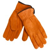 Cire by Grandoe Weekend Gloves - Sheepskin Suede (For Women)