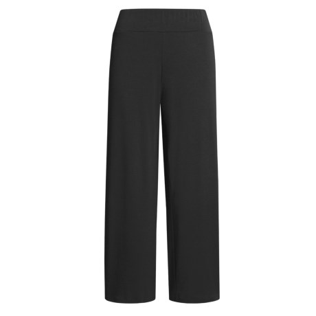 Poly-Rayon Stretch Palazzo Pants (For Women)