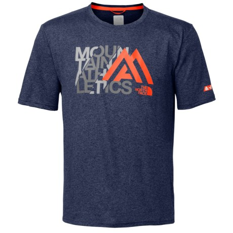The North Face Mountain Athletics Graphic Reaxion Amp T-Shirt - Short Sleeve (For Men)