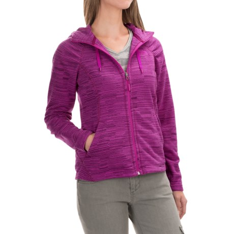 The North Face Novelty Mezzaluna Fleece Hoodie - Full Zip (For Women)