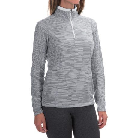 The North Face Novelty Glacier Fleece Jacket - Zip Neck (For Women)