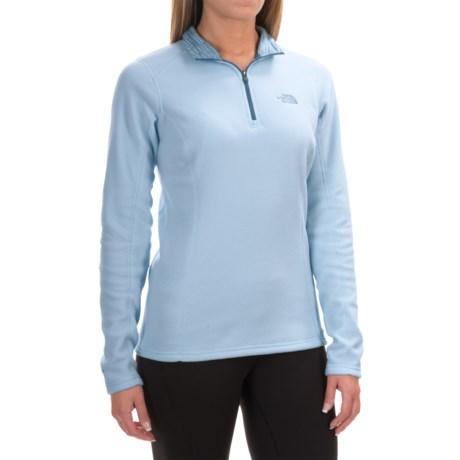 The North Face Glacier Fleece Shirt - Zip Neck, Long Sleeve (For Women)
