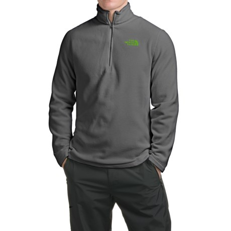 The North Face TKA 100 Glacier Fleece Jacket - Zip Neck (For Men)