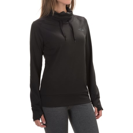 The North Face Dynamix Tech Shirt - Cowl Neck, Long Sleeve (For Women)