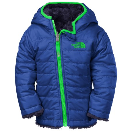 The North Face Reversible Mossbud Swirl Jacket - Insulated, Fleece Lined (For Infants)