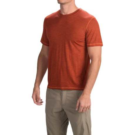 SmartWool NTS Micro 150 Pattern Shirt - Merino Wool, Short Sleeve (For Men)