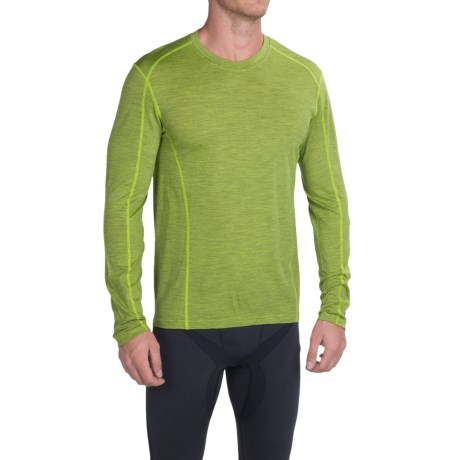 SmartWool NTS Micro 150 Pattern Base Layer Top - Merino Wool, Crew Neck, Long Sleeve (For Men)