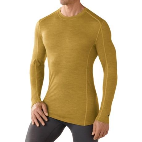 SmartWool NTS Micro 150 Pattern Base Layer Top - Merino Wool, Crew Neck, Long Sleeve (For Men)