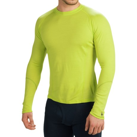SmartWool NTS 195 Base Layer Top - Merino Wool, Crew, Long Sleeve (For Men)