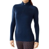 SmartWool NTS 250 Base Layer Top - Merino Wool, Zip Neck, Long Sleeve (For Women)