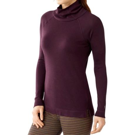 SmartWool NTS 250 Turtleneck Base Layer Top - Merino Wool, Long Sleeve (For Women)