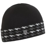 SmartWool Houndstooth Cuffed Beanie - Merino Wool (For Women)