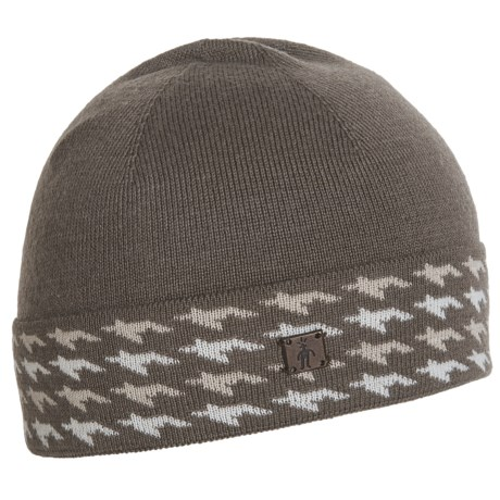 SmartWool Houndstooth Cuffed Beanie - Merino Wool (For Women)