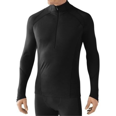 SmartWool Zip T Light 195 Base Layer Top - Merino Wool, Zip Neck, Long Sleeve (For Men)
