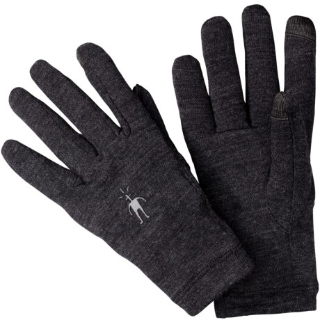 SmartWool NTS Mid 250 Gloves - Merino Wool, Touchscreen Compatible (For Men and Women)