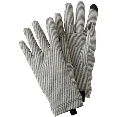 SmartWool NTS Micro 150 Pattern Gloves - Merino Wool, Touchscreen Compatible (For Men and Women)