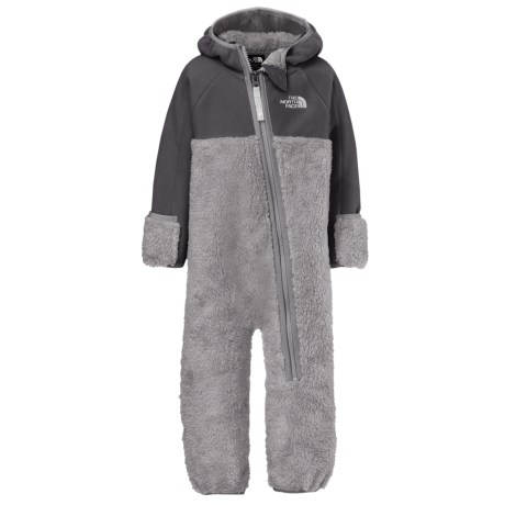 The North Face Chimborazo Fleece Baby Bodysuit - Hooded (For Infants)