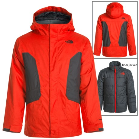 The North Face Boundary Triclimate® Jacket (For Little and Big Boys)