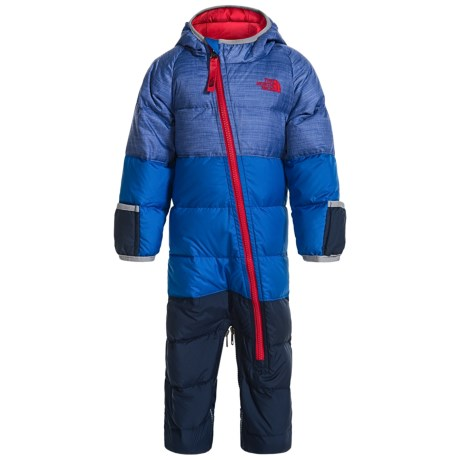 The North Face Lil' Snuggler Down Suit - 550 Fill Power (For Infants)
