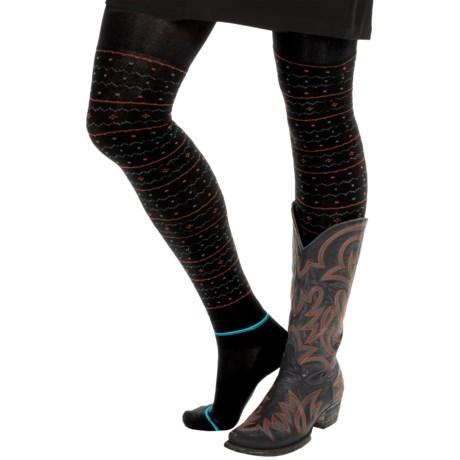 Bootights Kodiak Sweater Tights - Built-In Ankle Socks (For Women)
