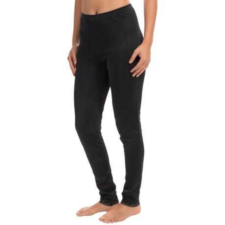 Cuddl Duds Softwear Leggings - Lace Trim (For Women)