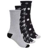 Kensie Light Socks - 3-Pack, Crew (For Women)