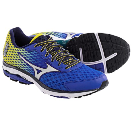 Mizuno Wave Rider 18 Running Shoes (For Men)