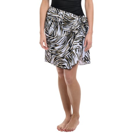 Longitude Tricot Sarong Cover-Up (For Women)