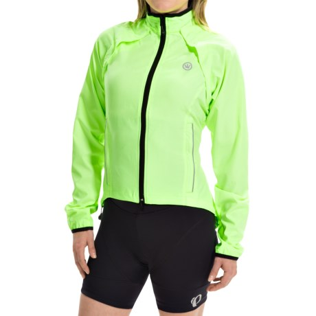 Canari Optima Convertible Cycling Jacket - Detachable Sleeves (For Women)