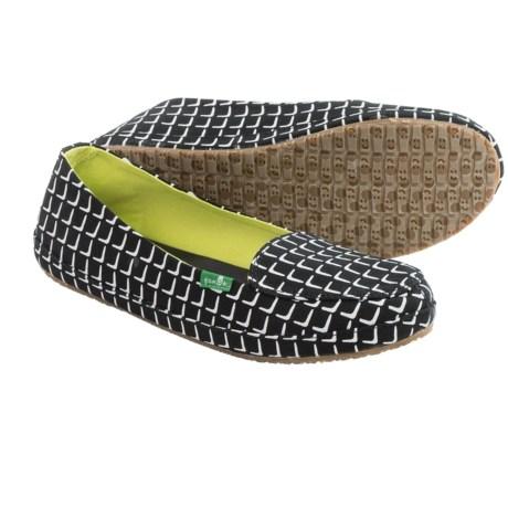 Sanuk Blanche Prints Canvas Shoes - Slip-Ons (For Women)